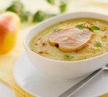 Zupa krem z pietruszki i gruszek: gorąca porcja witamin