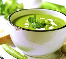 Zupa na lato: chłodnik z zielonego groszku [przepis]