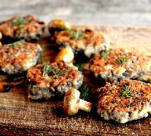 Kotlety z pieczarek - przepis na wegetariański obiad