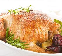 Kurczak z sosem chrzanowym i pieczonymi burakami: przepis