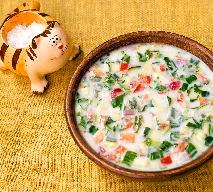 Zupa ze świeżych ogórków - przepis ze starej książki kucharskiej