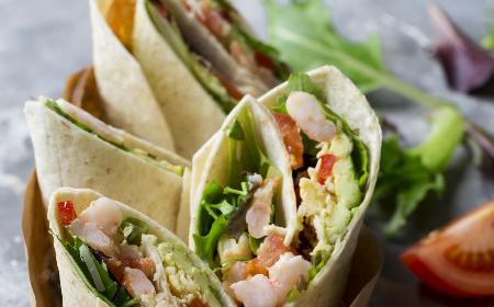 Tortille z indykiem i owocami morzami z programu Zakupy pod Kontrolą