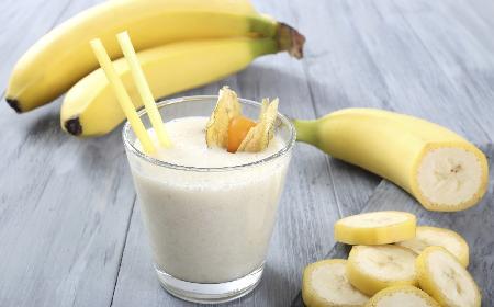 Koktajl bananowo-gruszkowy: owocowy raj