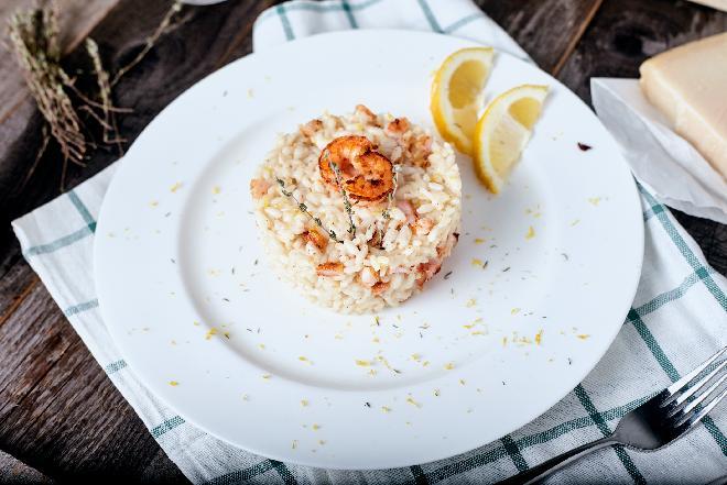 Risotto z owocami morza - zdrowy pomysł na obiad
