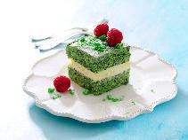 Kostka szpinakowa z kremem śmietanowym: pyszne ciasto na deser