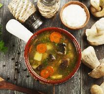 Grzybowa Juranda ze Spychowa - przepis na pyszną zupę z suszonych grzybów