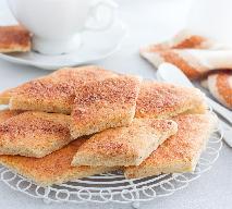 Kruche cynamonki: łatwy przepis na domowe ciasteczka [FOTO KROK PO KROKU]