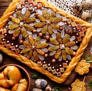 Najlepszy mazurek czekoladowo-orzechowy