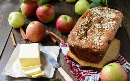 Chleb jabłkowy - do porannego śniadania lub popołudniowej kawy