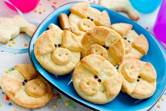 Ciasteczka prosiaczki z powidłami