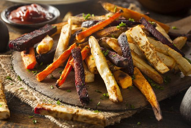 Frytki warzywne z pieca, czyli samo zdrowie