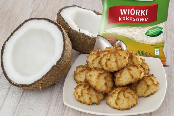 Klasyczne kokosanki: przepis na ciasteczka kokosowe